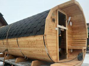 Sauna beczka 1