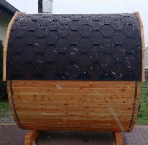 Sauna beczka 11