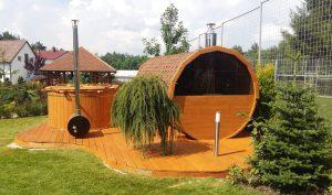Sauna beczka 13