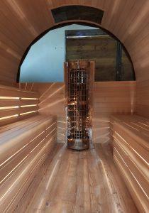 Sauna beczka 16
