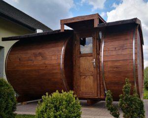 Sauna beczka 19