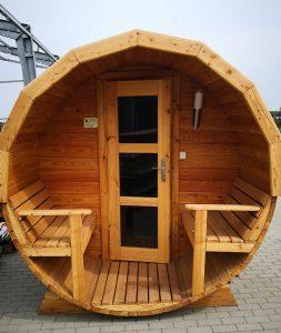 Sauna beczka 24