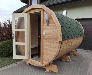 Sauna beczka 3