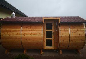 Sauna beczka 31