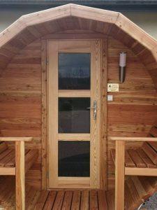 Sauna beczka 5