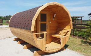 Sauna beczka 8