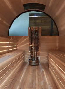 Sauna owal 10