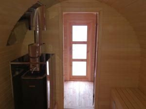 Sauna owal 12