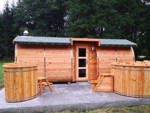 Sauna owal 16