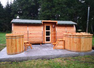 Sauna owal 17