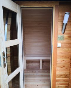 Sauna owal 19