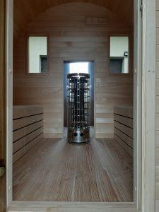 Sauna owal 25
