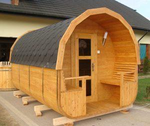 Sauna owal 9