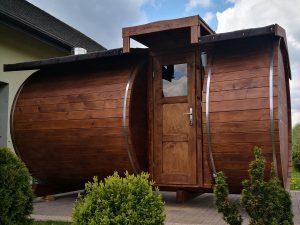 Sauna z bocznym wejściem 1
