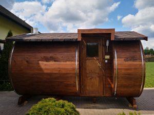 Sauna z bocznym wejściem 3