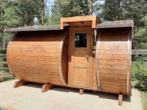 Sauna z bocznym wejściem 4
